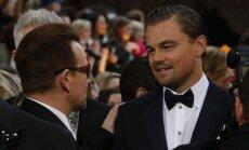Bono ir Leonardo DiCaprio