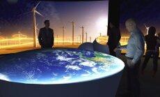 Klimato kaitos demonstracinio centro dalies - Interaktyvaus klimato kaitos informacinio centro vizualizacija.