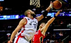 Raptors- Pelicans dvikova