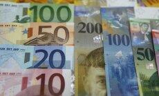 Euras, Šveicarijos frankai, valiuta