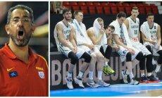 Juanas Antonio Orenga, Lietuvos U-20 rinktinė (AFP-Scanpix, FIBA nuotr.)