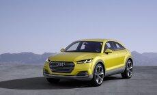 Audi Q4 pagrindu taps koncepcinis Audi TT offroad