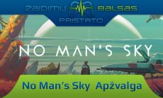 """""""Žaidimų naujienos"""": kosminis """"Minecraft""""? """"No Man's Sky"""" a pžvalga"""