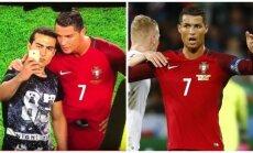 Du Cristiano Ronaldo veidai