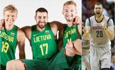 NBA lygoje – jau keturi lietuviai (FIBA ir AP nuotr.)