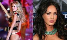Gražuolės Karolina Kurkova ir Megan Fox turi nedidelius išvaizdos trūkumus, kuriuos sugebėjo paversti privalumais.