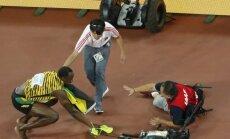 Usainas Boltas ir TV operatorius