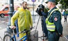 Pareigūnai surengė neeilinį reidą dviratininkams