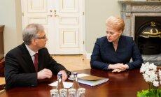 Rimantas Šadžius ir Dalia Grybauskaitė