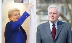 Dalia Grybauskaitė, Valdas Adamkus