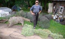 Konfiskuoti draudžiami žvejybos įrankiai