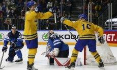 Švedijos ledo ritulininkai įveikė suomius