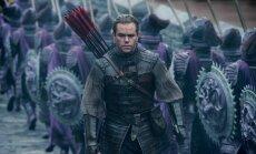 Mattas Damonas, kadras iš filmo Didžioji siena