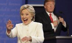 Hillary Clinton ir Donaldo Trumpo debatai