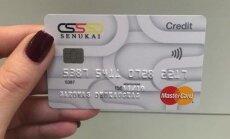 """""""Senukai"""" pirkėjams pasiūlė kreditinę kortelę"""