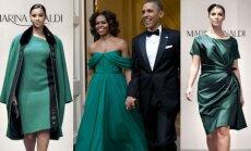 Marina Rinaldi modeliai, Michelle ir Barackas Obamos