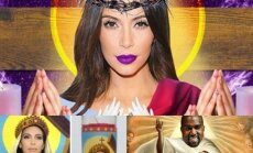 Kim Kardashian internautų vaizduotėje