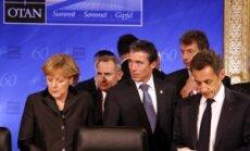 Angela Merkel, Anders Fogh Rasmussen, Nicolas Sarkozy