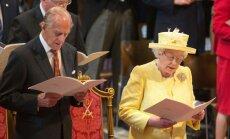 Britanijos karalienė Elizabeth II, princas Philipas