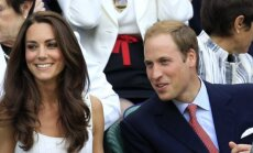 Catherine Middleton ir princas Williams