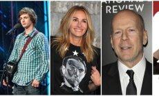 Aleksas Augaitis, Julia Roberts, Bruce Willis, Marilyn Monroe
