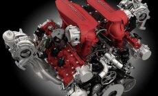 Ferrari 488 GTB 3.9 litro V8 variklis