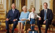 Karalienė Elizabeth su sosto paveldėtojais