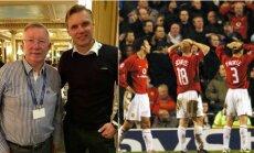 Alexas Fergusonas ir Edgaras Jankauskas prisiminė istorines rungtynes
