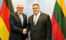 Linas Linkevičius i Frank-Walter Steinmeier. Foto: MSZ RL