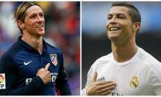 Fernando Torresas ir Cristiano Ronaldo (AP-Scanpix ir REUTERS-Scanpix nuotr.)