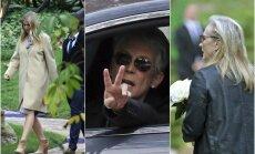 Carrie Fisher ir Debbie Reynolds laidotuvės