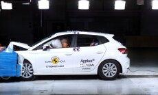 Naujajam SEAT Ibiza – penkios Euro NCAP saugumo testo žvaigždutės