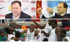 Arvydas Sabonis, Patrickas Baumannas, Nigerijos krepšinio rinktinė