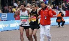 Londono maratono finišas - kilnaus elgesio sporte pavyzdys