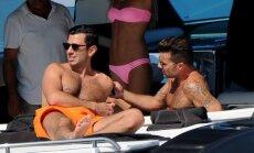 Romantiškos Ricky Martino atostogos Ibizoje