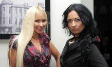 Diana Martinėlė (kairėje) ir Natalija Tokareva
