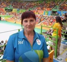 Golbolo teisėja Vilma Bašinskaitė