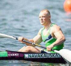 Baidarininkas I. Navakauskas B finale – pirmas, o medalius pelnė keturi atletai
