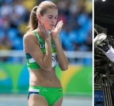 Priešpaskutinė Rio diena: A. Palšytės viltys finale ir laukiamas J. Kinderio siurprizas