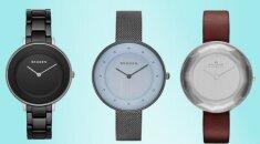 ELEGANTIŠKA KALĖDINĖ DOVANA Skandinaviško stiliaus laikrodis SKAGEN gali būti tavo! Laimėtoja