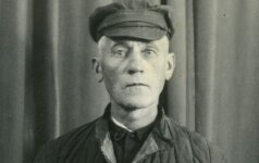 Vyskupas T. Matulionis grįžęs iš Rusijos kalėjimų 1933 m.