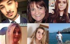 Mančesterio teroro atakos aukos: moksleiviai, mylinčios poros ir rūpestingi tėvai