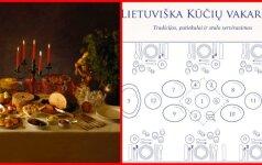 LIETUVIŠKA KŪČIŲ VAKARIENĖ: stalo serviravimas, tradicijos ir patiekalai