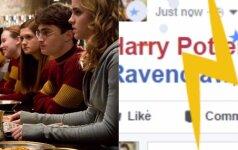 "Hario Poterio gerbėjams - ""Facebook"" dovana"