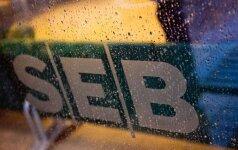 SEB banko pelnas didėja: per pirmą ketvirtį uždirbo 21,7 mln. eurų