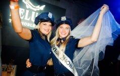 Kauno naktinį klubą okupavo mergvakariai
