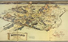Disneyland žemėlapis