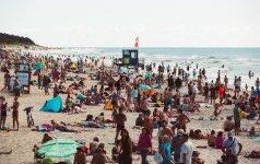 Palanga – perpildyta, bet verslininkai tuo nesidžiaugia: šalta vasara padarė savo