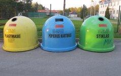 Privačių namų gyventojams – rūšiavimo konteineriai už 2,4 mln. litų