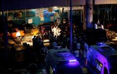 Teroro ataka Stambule kasa karo kirvį